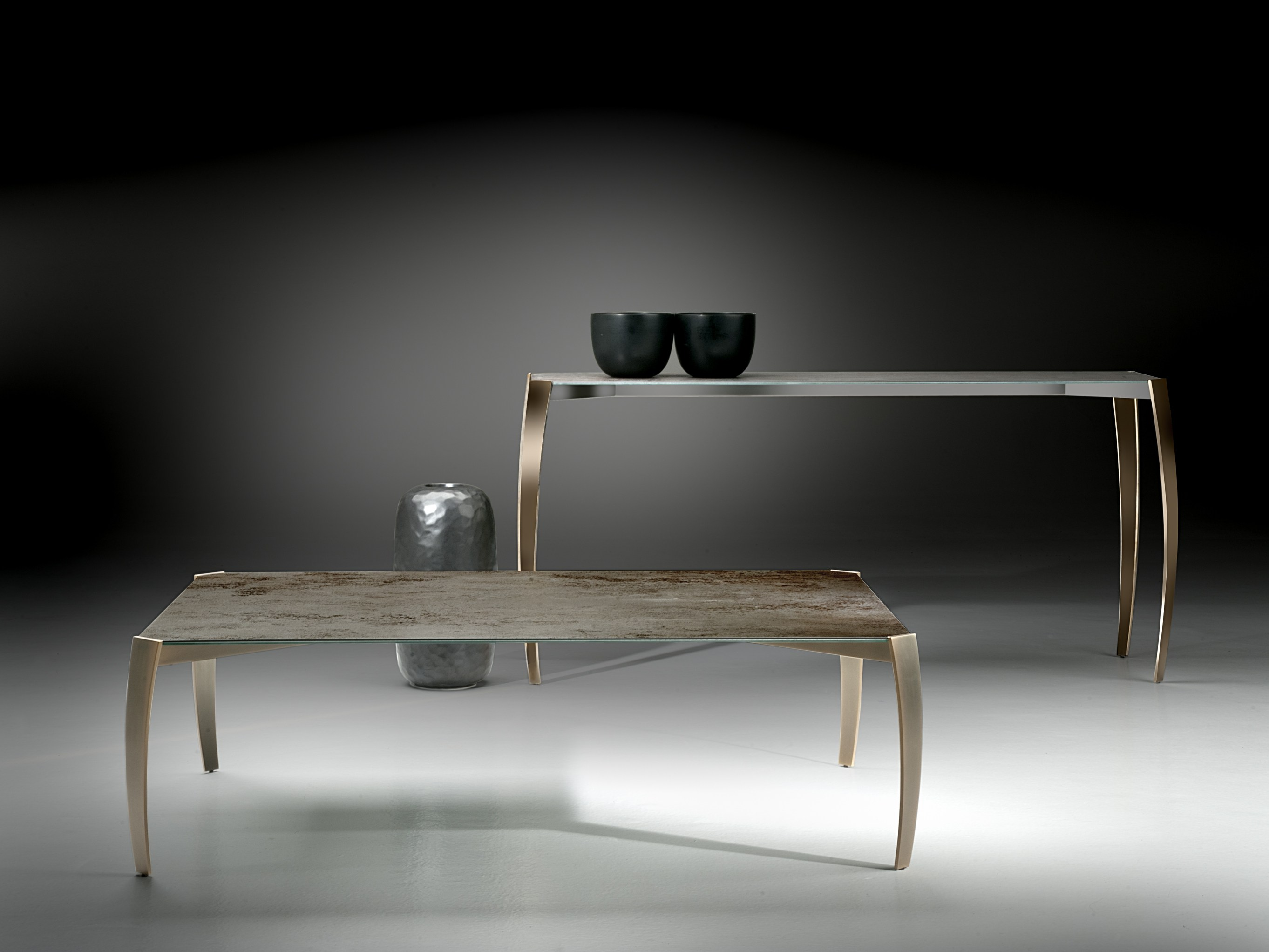 Spider table basse by orsenigo design umberto asnago - Table ceramique italie ...