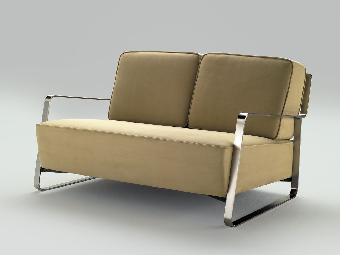 Fujiyama small sofa by orsenigo design umberto asnago for Small settee