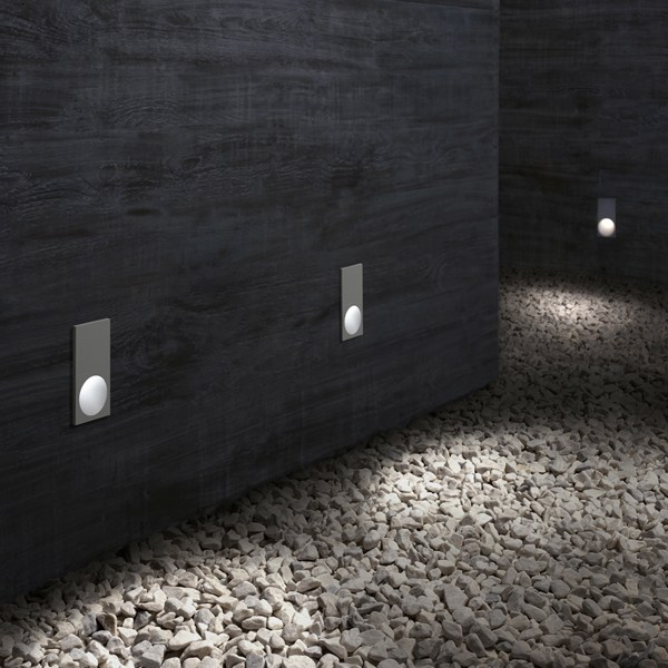 Led foot and walkover light theblockoflight by flos - Iluminacion exterior led ...