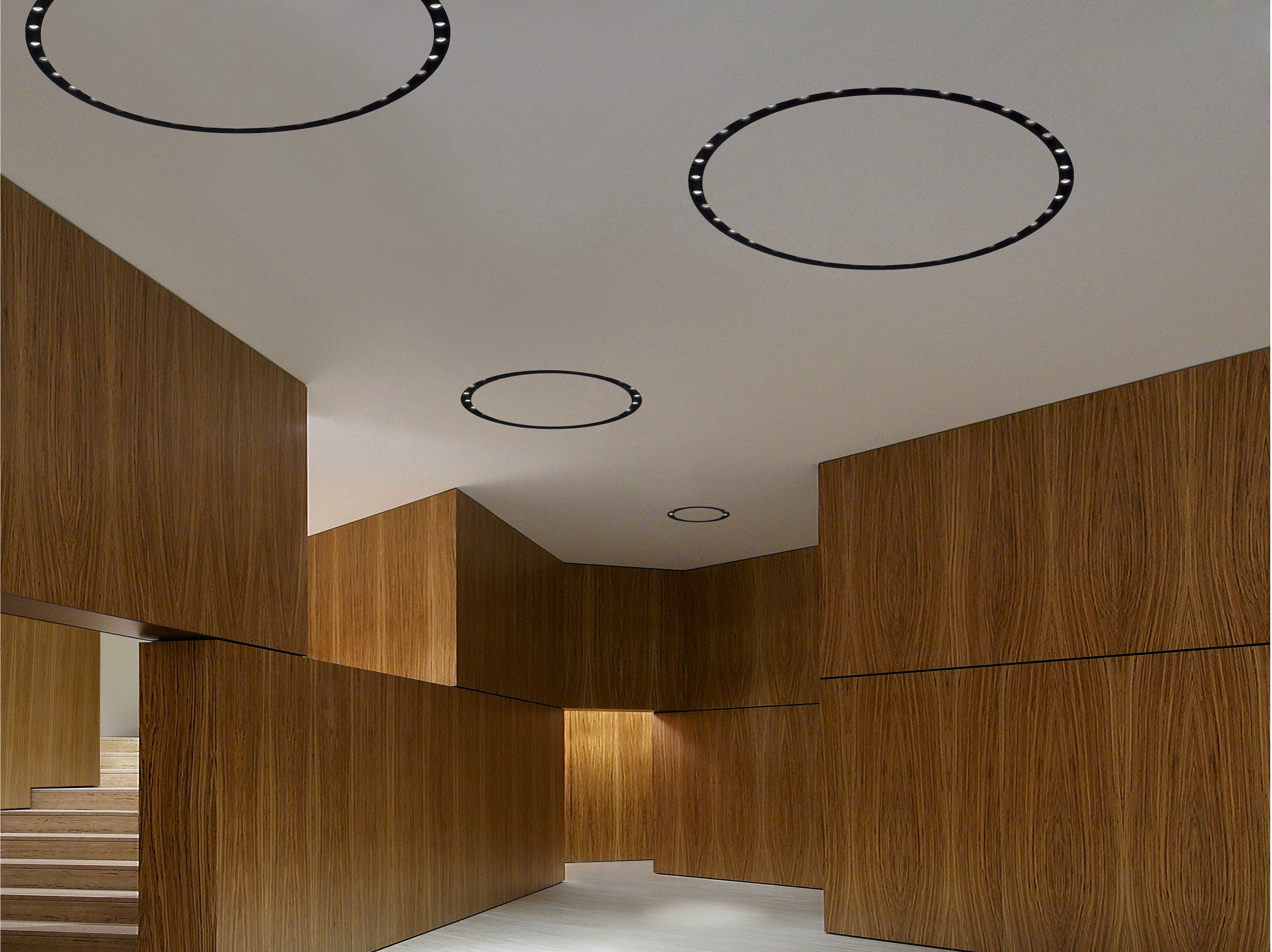 Built In Lights For Ceiling : Built in lighting profile for led modules circle of light