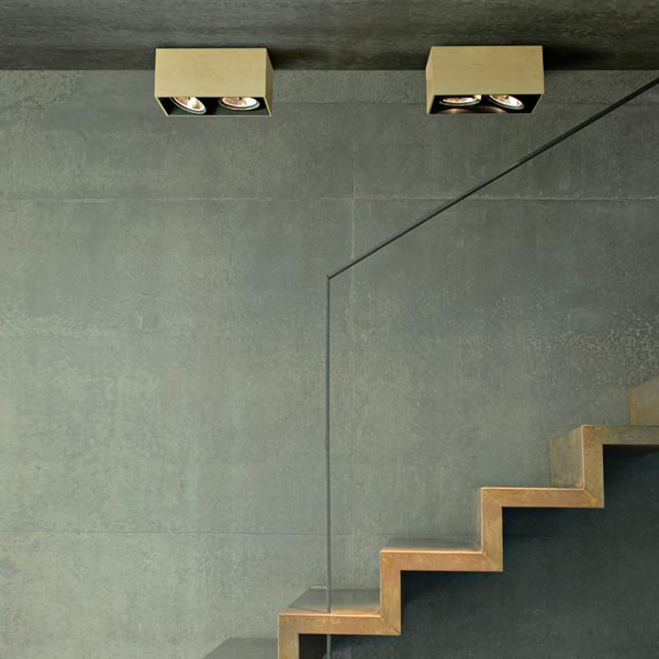 adjustable ceiling lamp compass box by flos. Black Bedroom Furniture Sets. Home Design Ideas