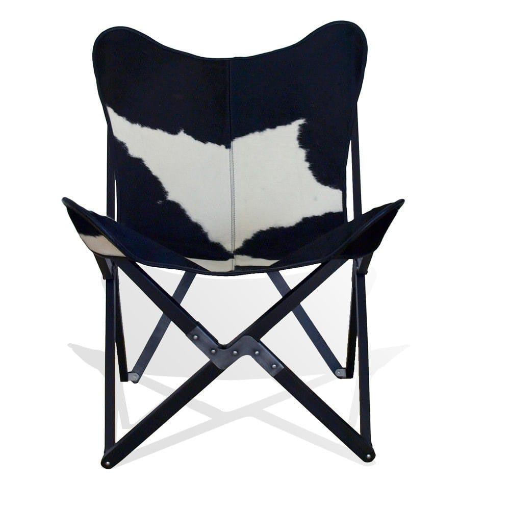 Cowhide butterfly chair - Cowhide Butterfly Chair 51