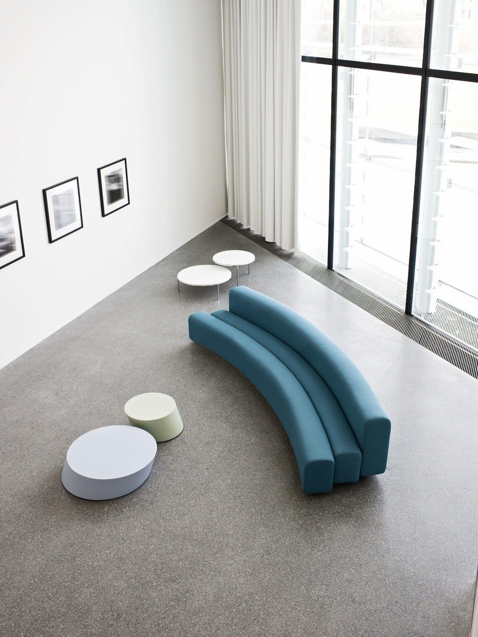 Osaka divano modulare by la cividina design pierre paulin for Divani a elle misure