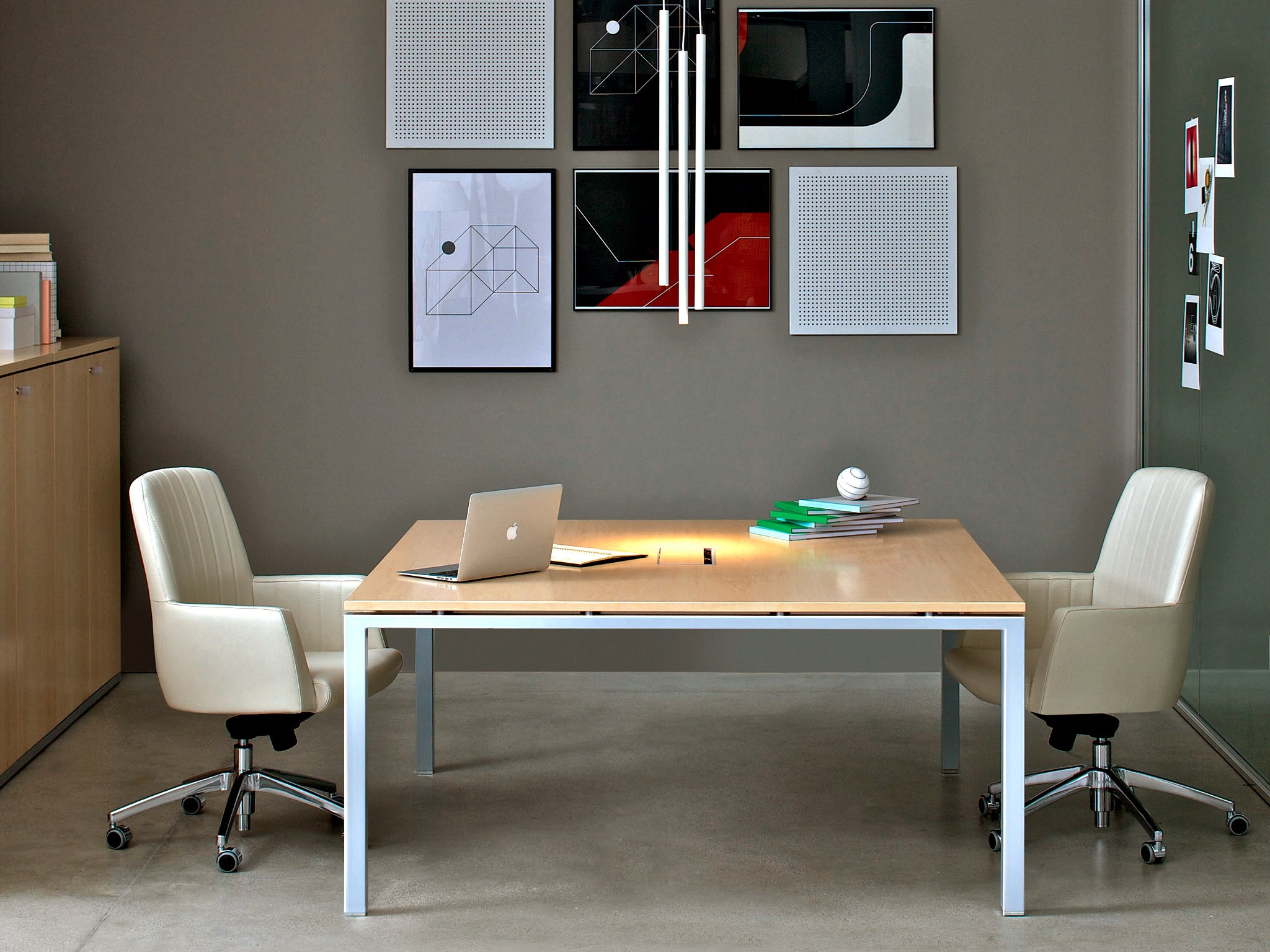 meeting table asterisco in square meeting table estel group