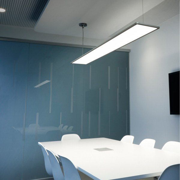 Led Suspended Panel Light Super Flat By Flos