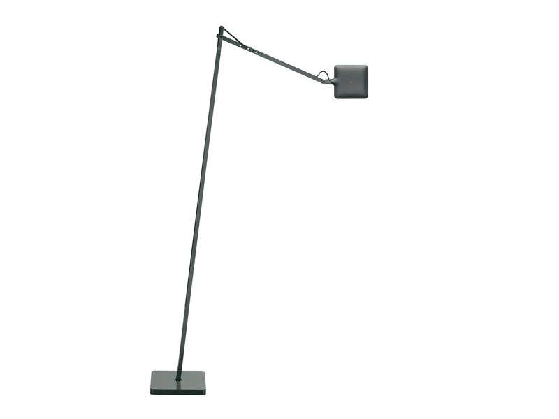 adjustable floor lamp kelvin led f by flos design antonio citterio. Black Bedroom Furniture Sets. Home Design Ideas
