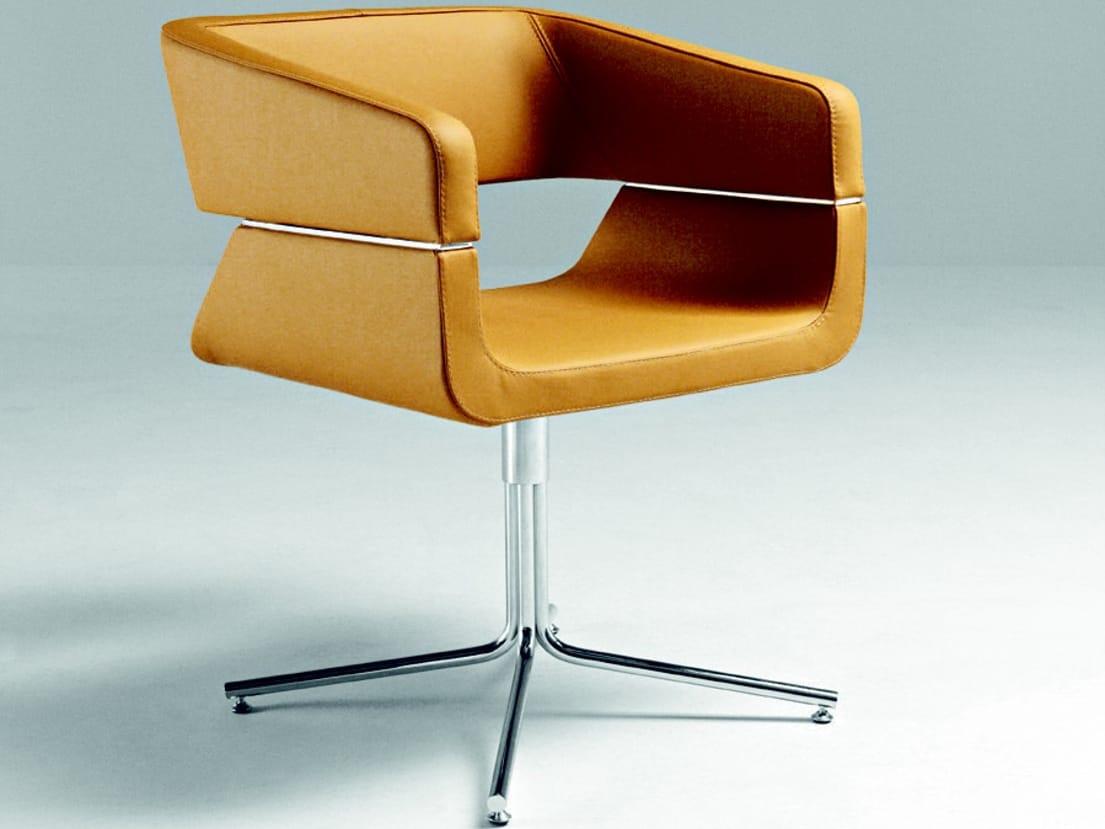 Matrix Swivel Easy Chair By La Cividina Design Mauro Fadel