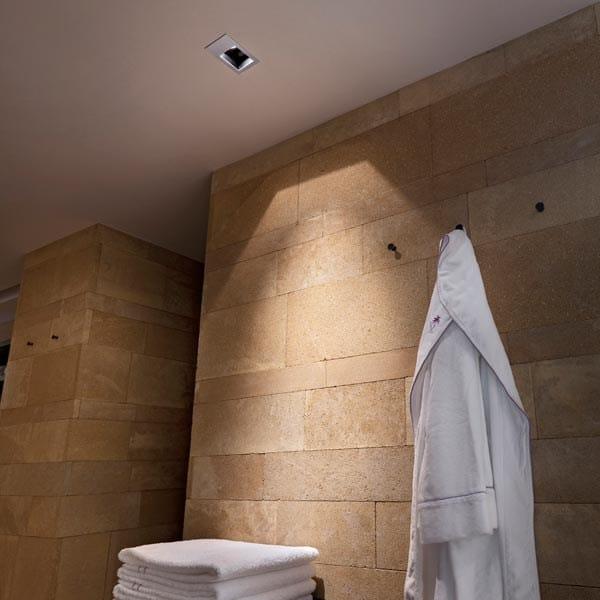Spot halog ne pour plafond encastrable en aluminium moul micro battery by fl - Spot encastrable plafond design ...