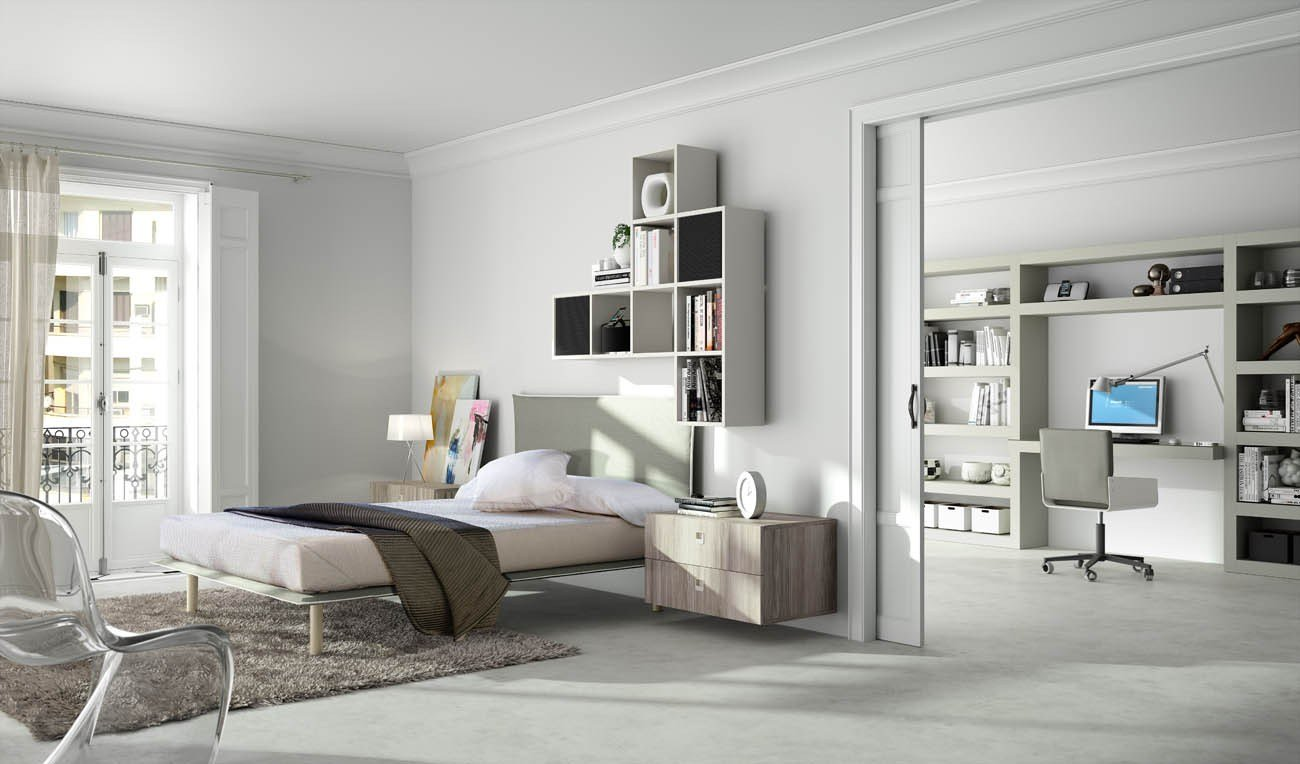 chambre d 39 ado tiramolla 118 by tumidei design marelli e molteni. Black Bedroom Furniture Sets. Home Design Ideas