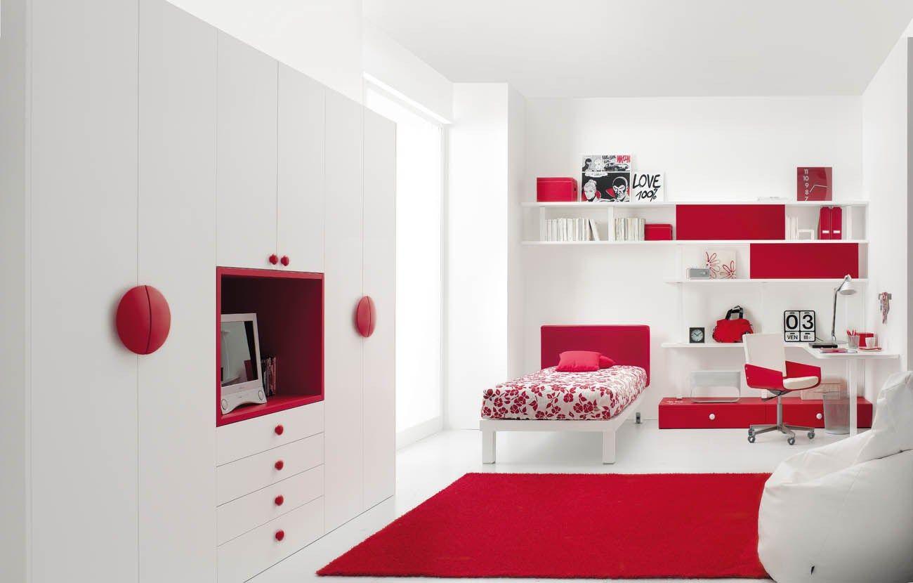 Cameretta per ragazzi tiramolla 122 by tumidei design marelli e molteni - Stanze da letto bellissime ...