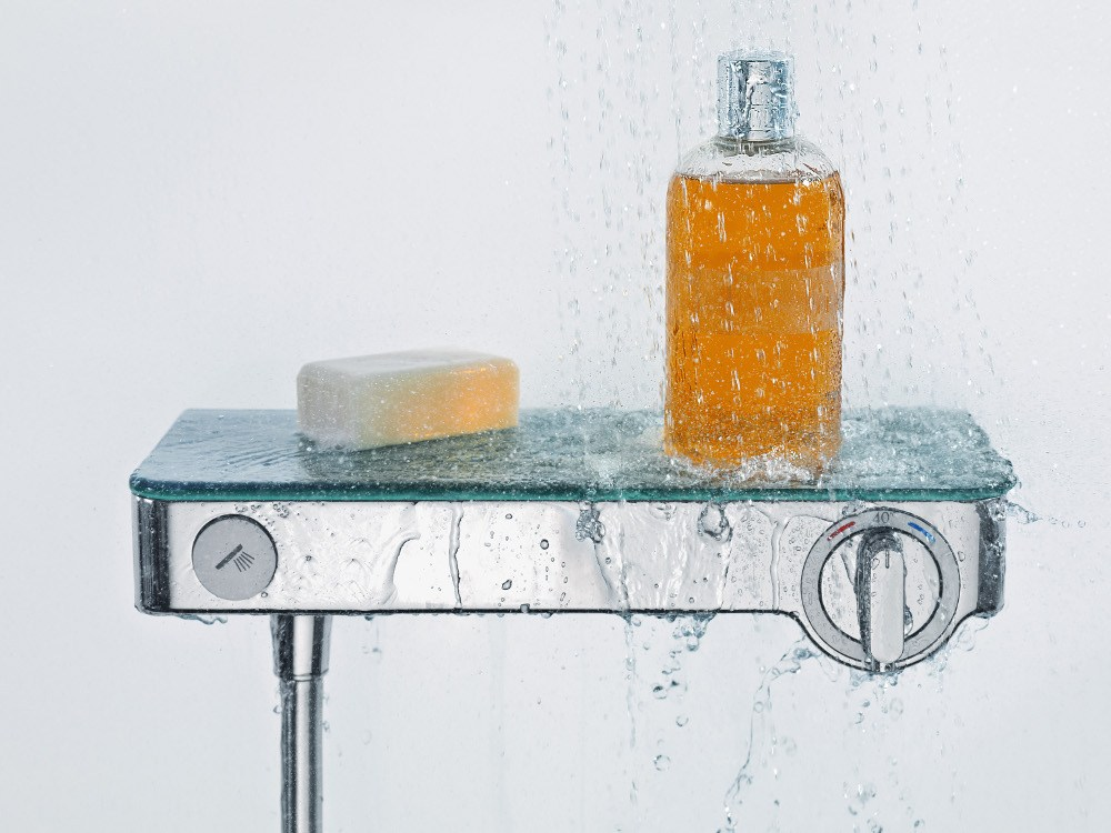 mitigeur thermostatique de douche showertablet select 300. Black Bedroom Furniture Sets. Home Design Ideas