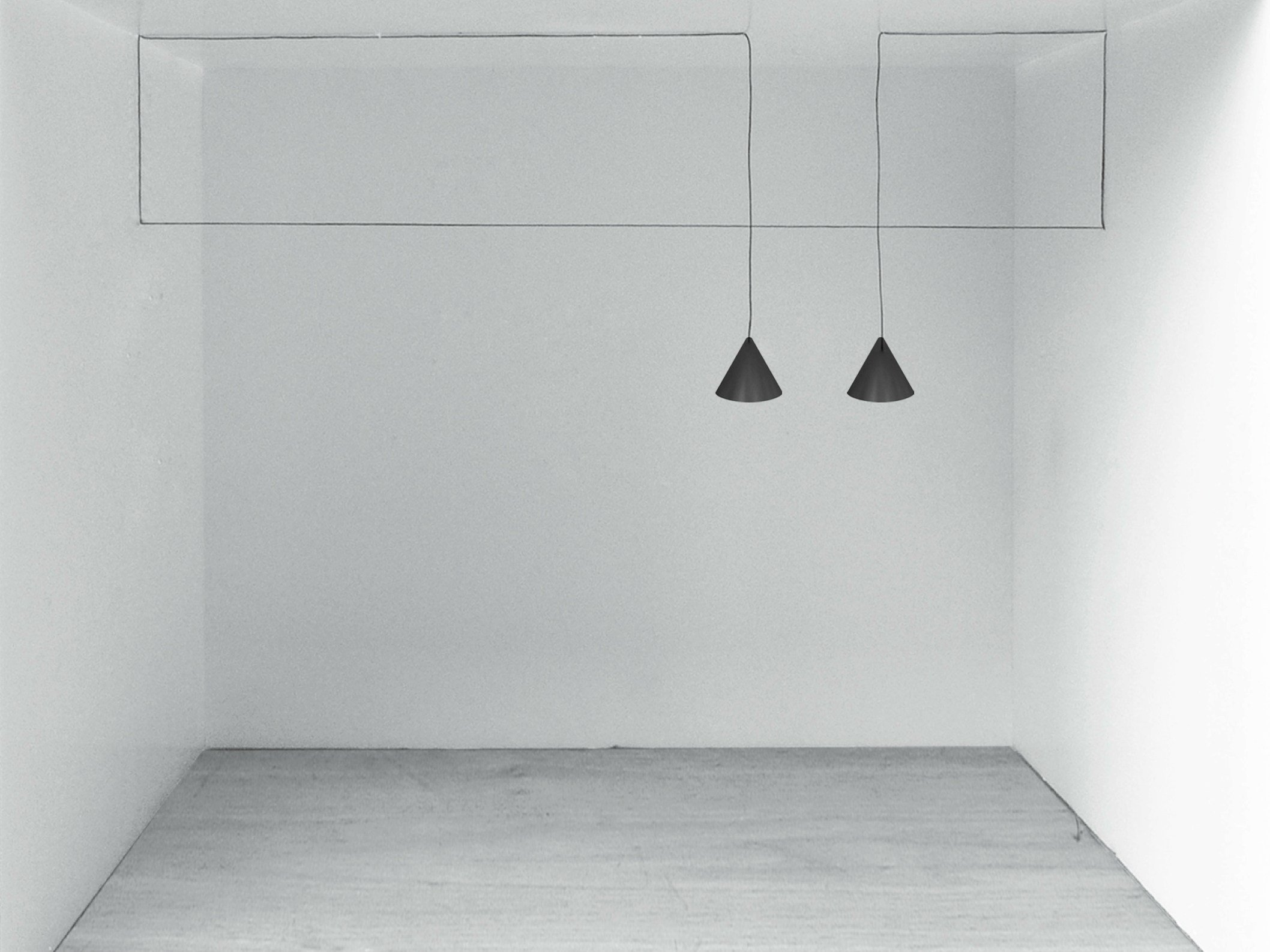 Design With String Lights : LED pendant lamp STRING LIGHT - CONE HEAD by FLOS design Michael Anastassiades
