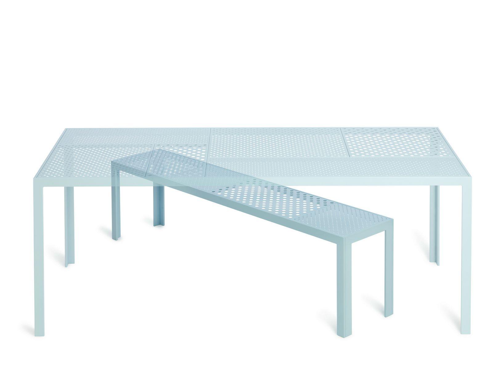 areal banc en acier by nola industrier design brda. Black Bedroom Furniture Sets. Home Design Ideas