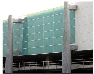 Struttura di supporto per facciata in fibra di vetro - Piastrelle di vetro ...