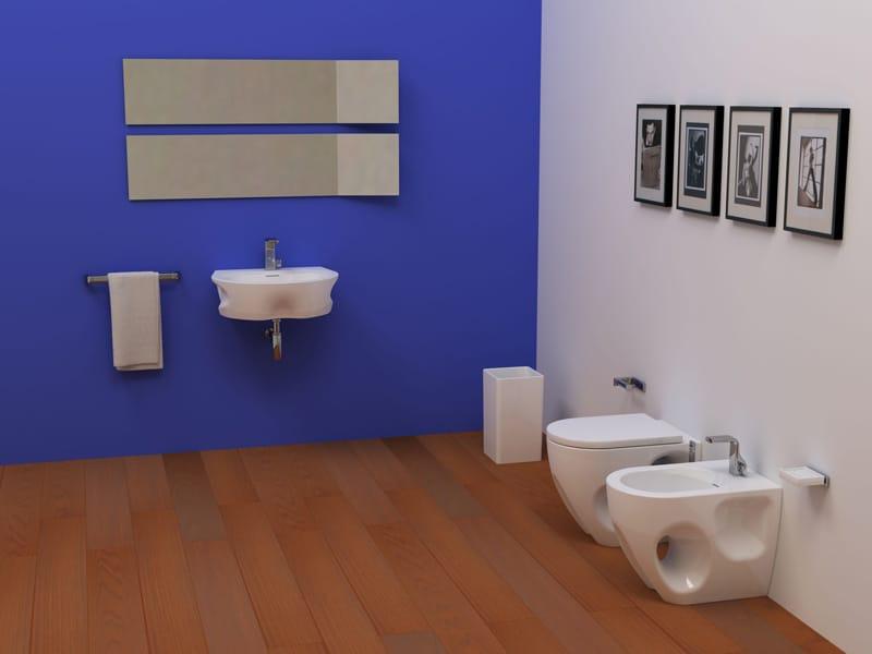Void arredo bagno completo by ceramica flaminia design - Arredo bagno completo ...