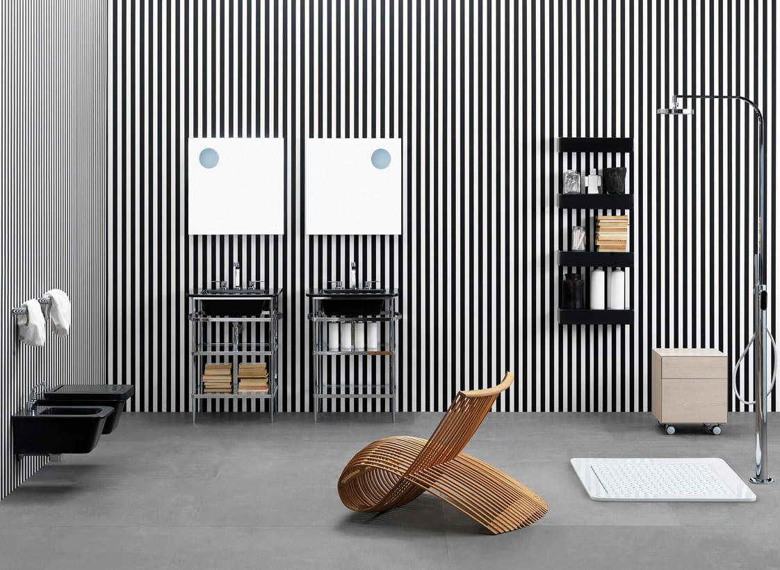 Volo arredo bagno completo by ceramica flaminia design for Arredo bagno completo