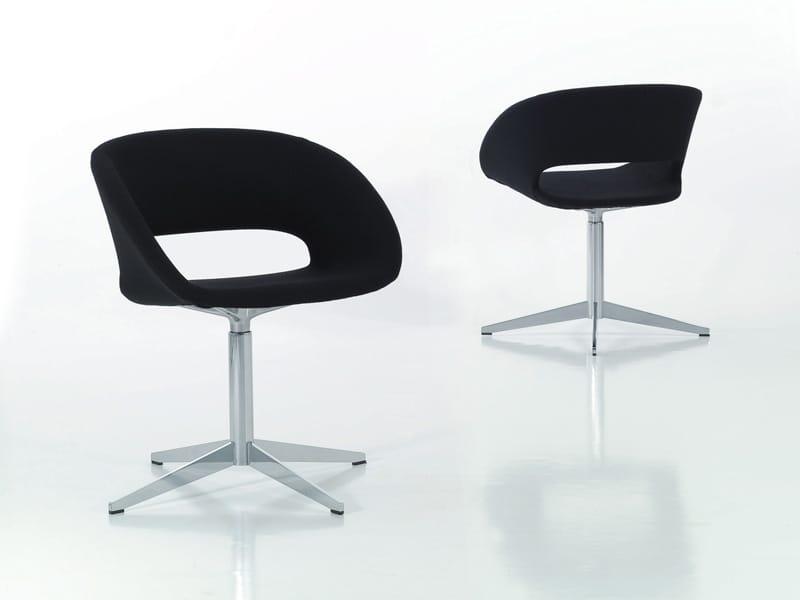 chaise rembourr e 4 branches conch by porro design decoma design. Black Bedroom Furniture Sets. Home Design Ideas