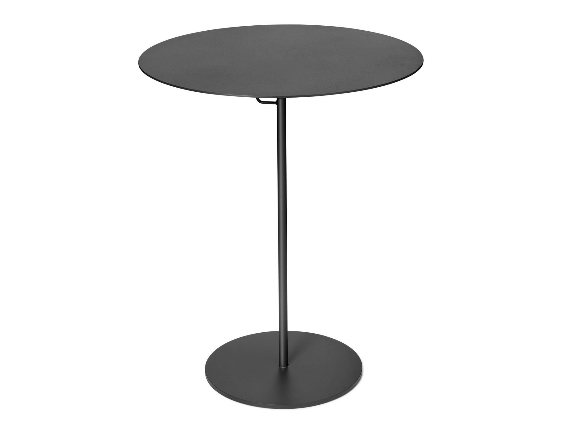 table haute rond en acier kyparn table d 39 appoint de. Black Bedroom Furniture Sets. Home Design Ideas