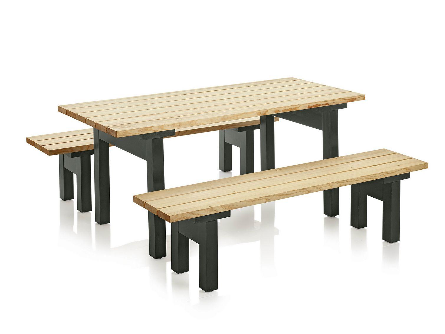 Mesa de picnic de pino colecci n bakg rd by nola - Mesa de pino ...