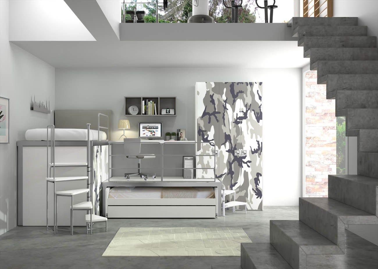 Chambre d 39 ado tiramolla 178 by tumidei design marelli e for Due d arredamenti