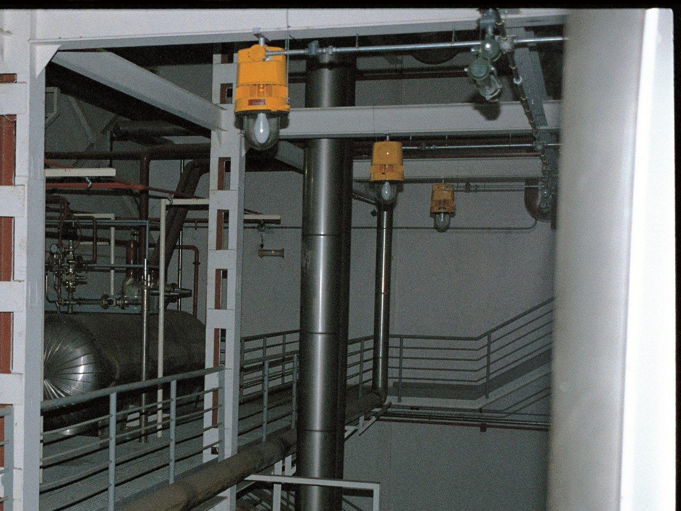 Ceiling Mounted Led Emergency Lights : Led ceiling mounted emergency light explosion proof by