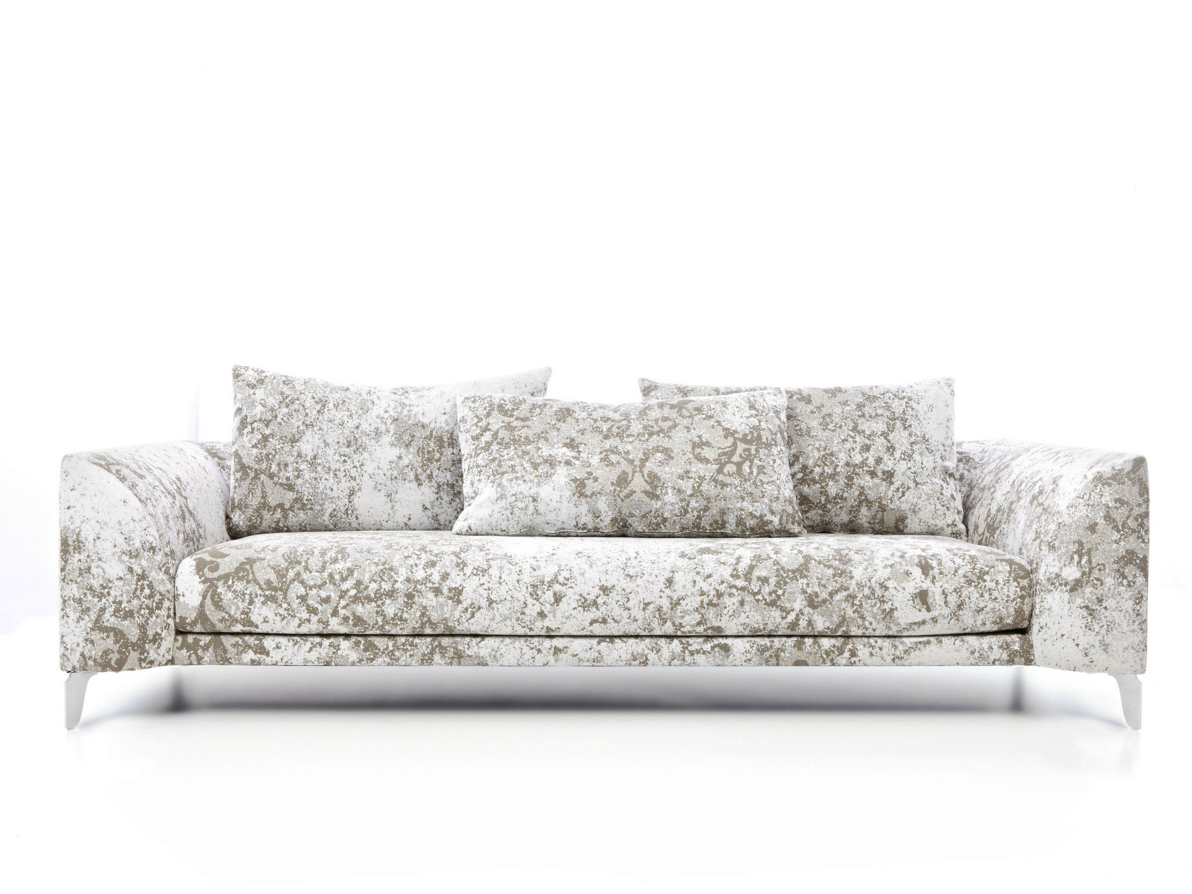 4 Seater Sofa With Removable Cover Canvas Sofa By Moooi
