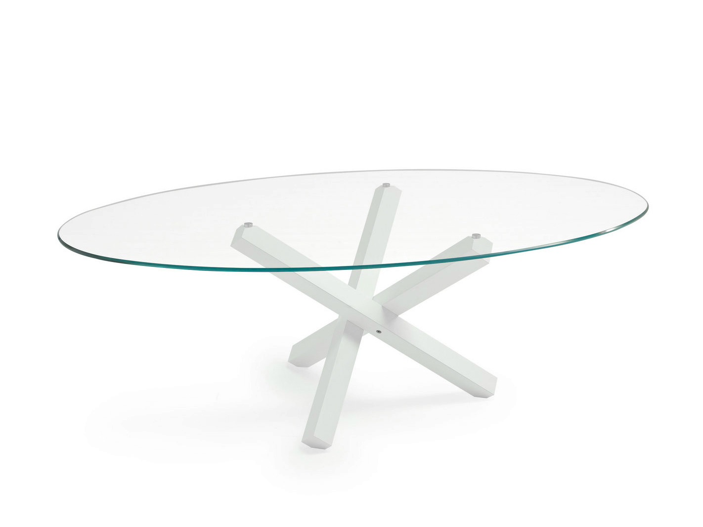 Stunning tavolo ovale vetro ideas - Tavolo vetro ovale ...