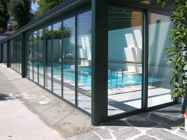 Abri de terrasse en aluminium CR+  Auvent en aluminium - FRUBAU