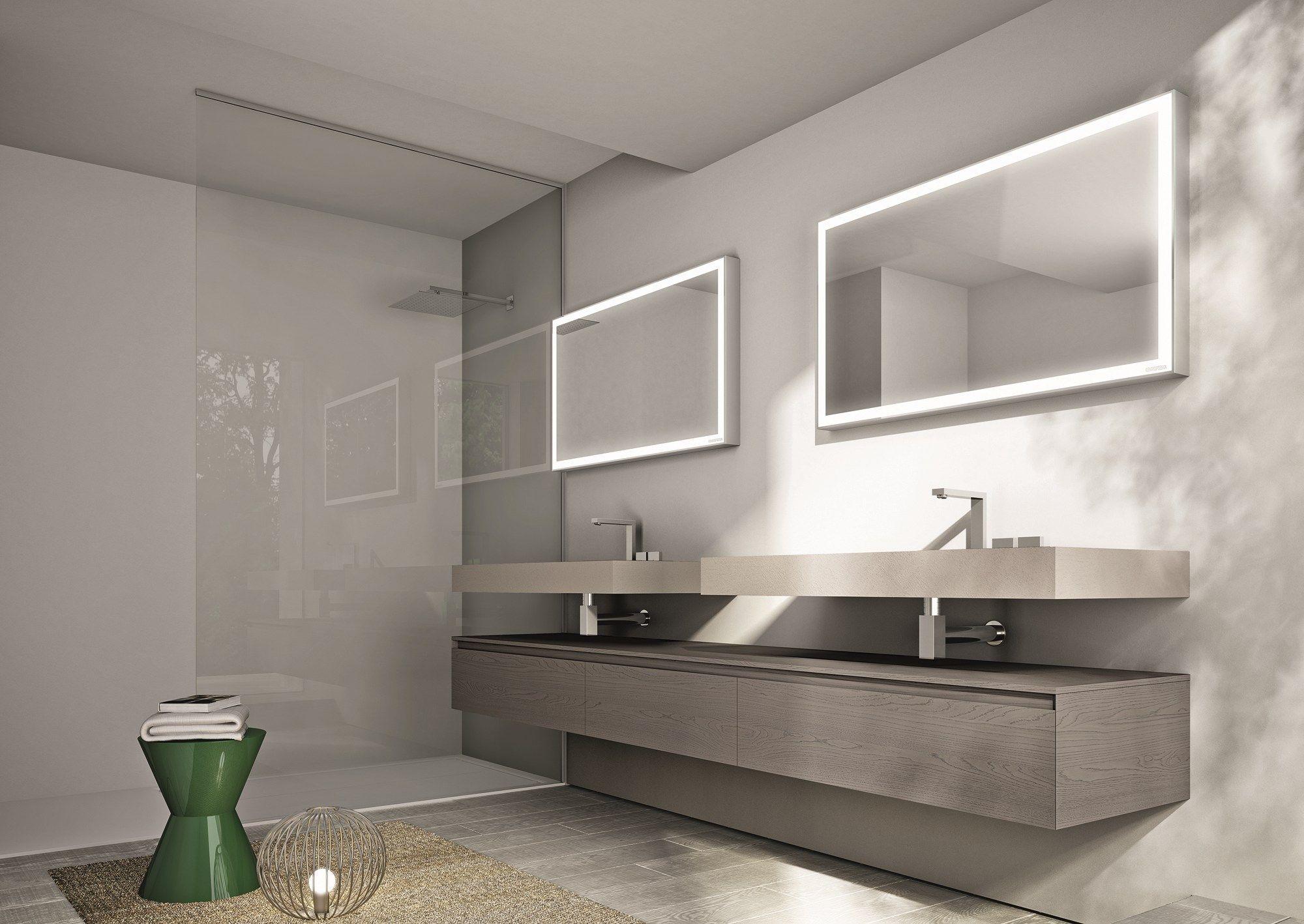 Cubik specchio per bagno by ideagroup - Specchio per bagno ...