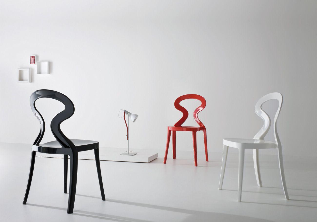 Anita stackable chair by gaber design stefano sandon for Sillas descanso modernas