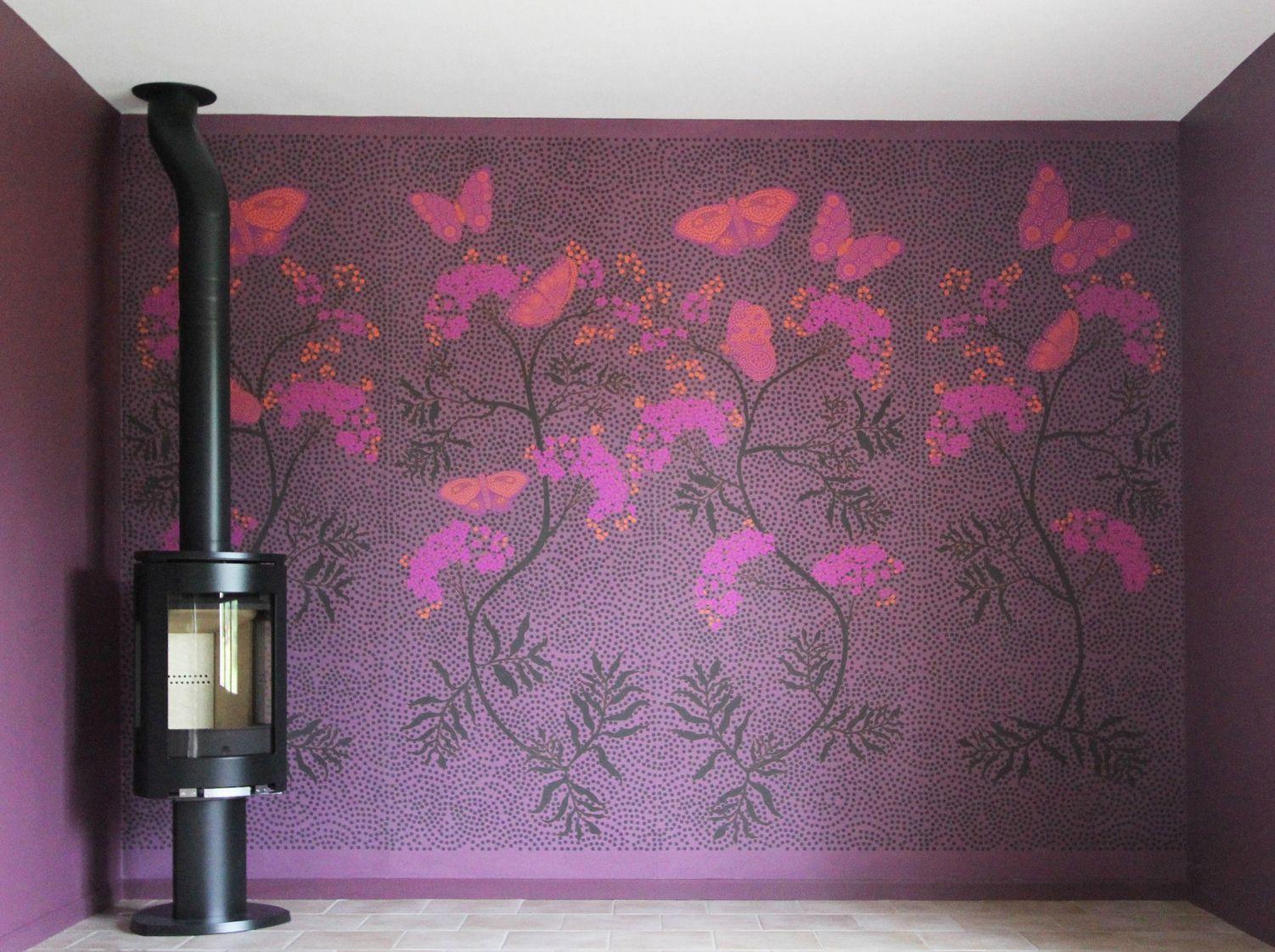 papier peint panoramique panoramique en papier intiss. Black Bedroom Furniture Sets. Home Design Ideas