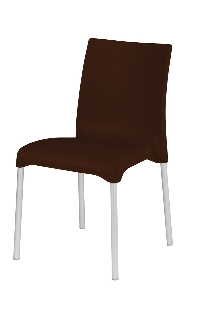 Chaise empilable en technopolym re maya by gaber design for Chaise empilable