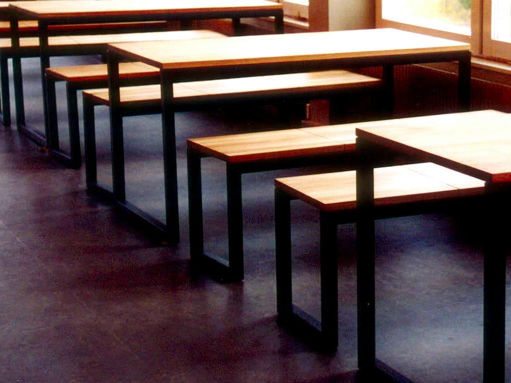 Minimal mesa para restaurantes by nola industrier dise o for Mesas para restaurante