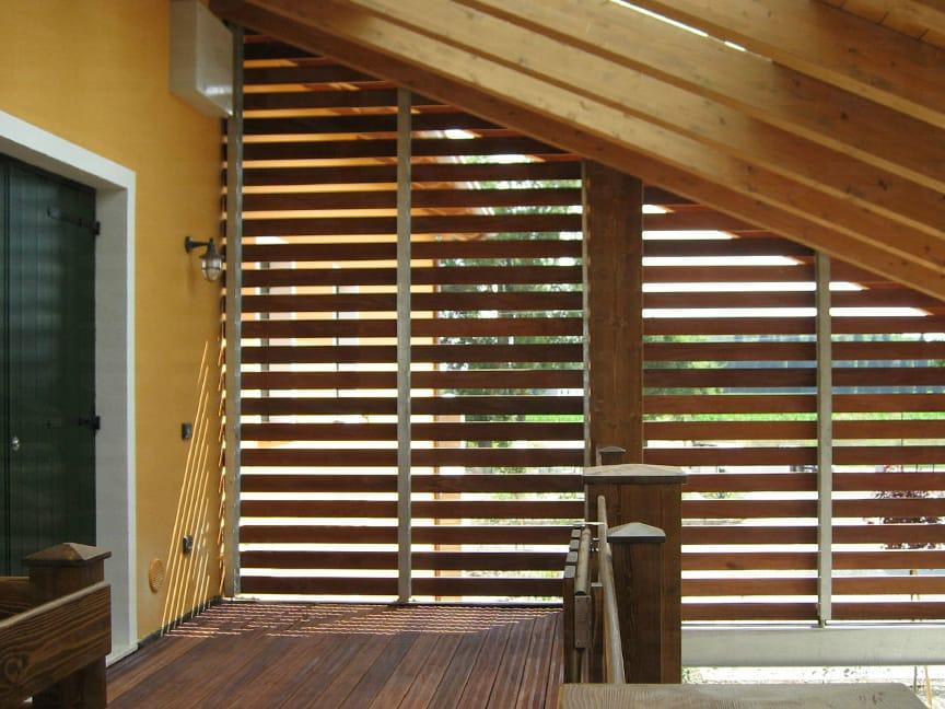 panneau de bois pour fa ade brise soleil by ravaioli legnami. Black Bedroom Furniture Sets. Home Design Ideas