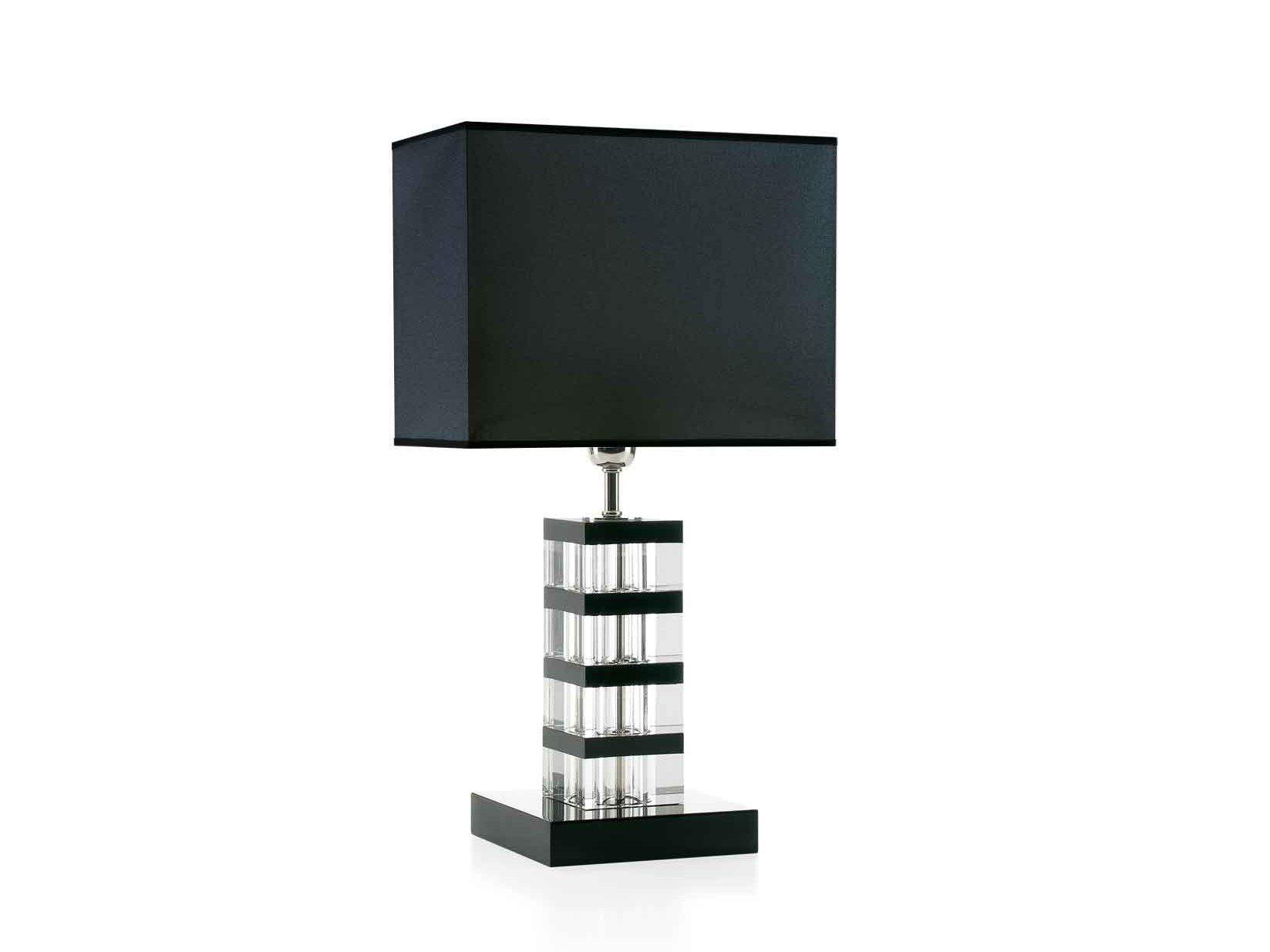 Wood and glass table lamp MANHATTAN by ENVY #455158
