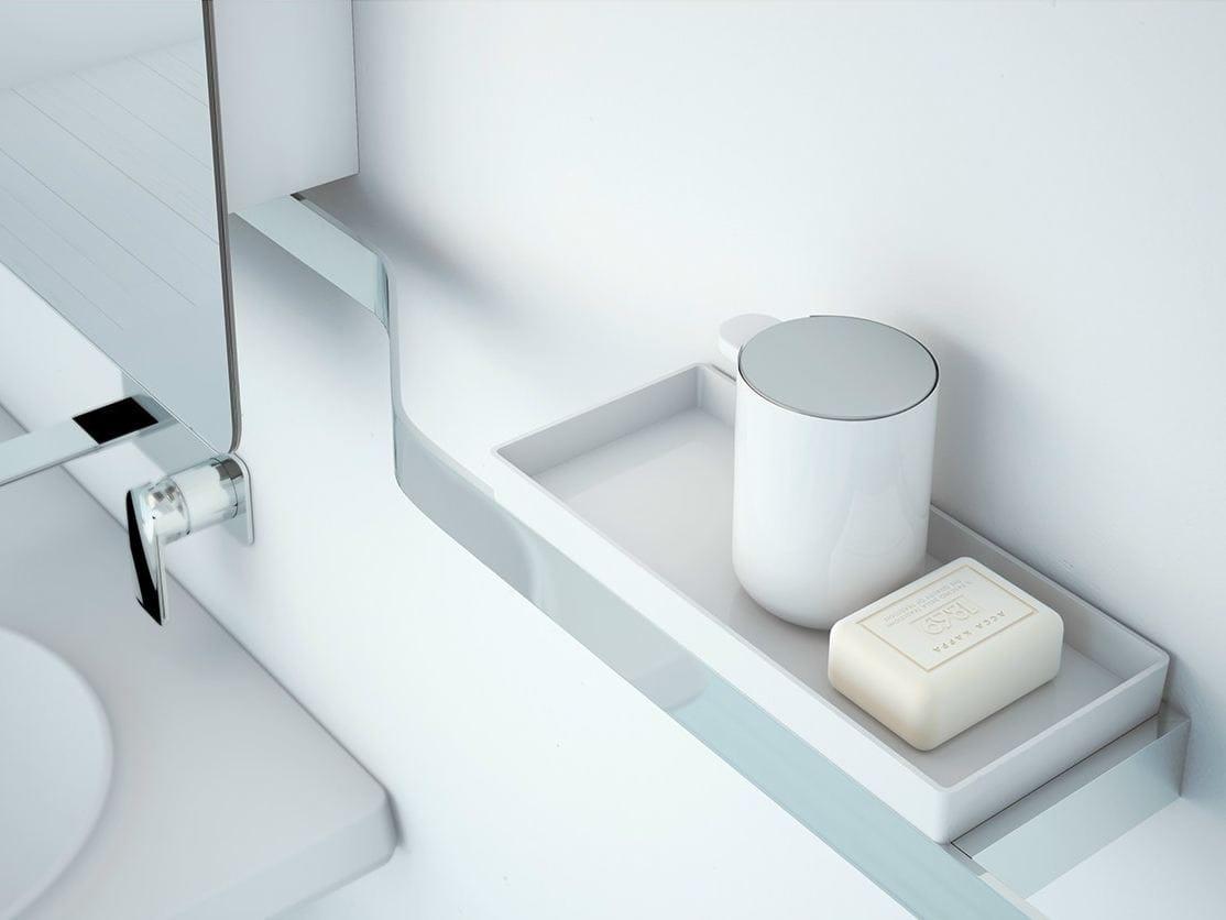 Vase tag re murale pour salle de bain by inbani design - Etagere salle de bain design ...