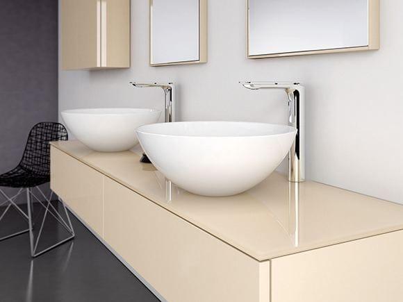 Strato lavabo sobre encimera by inbani dise o inbani - Lavabos redondos sobre encimera ...