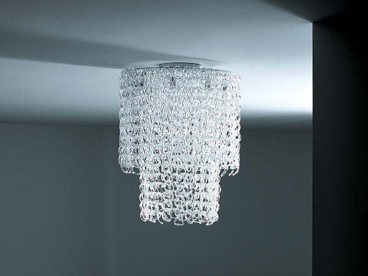 Lampadario in cristallo P-LIGHT by Porro design Piero Lissoni