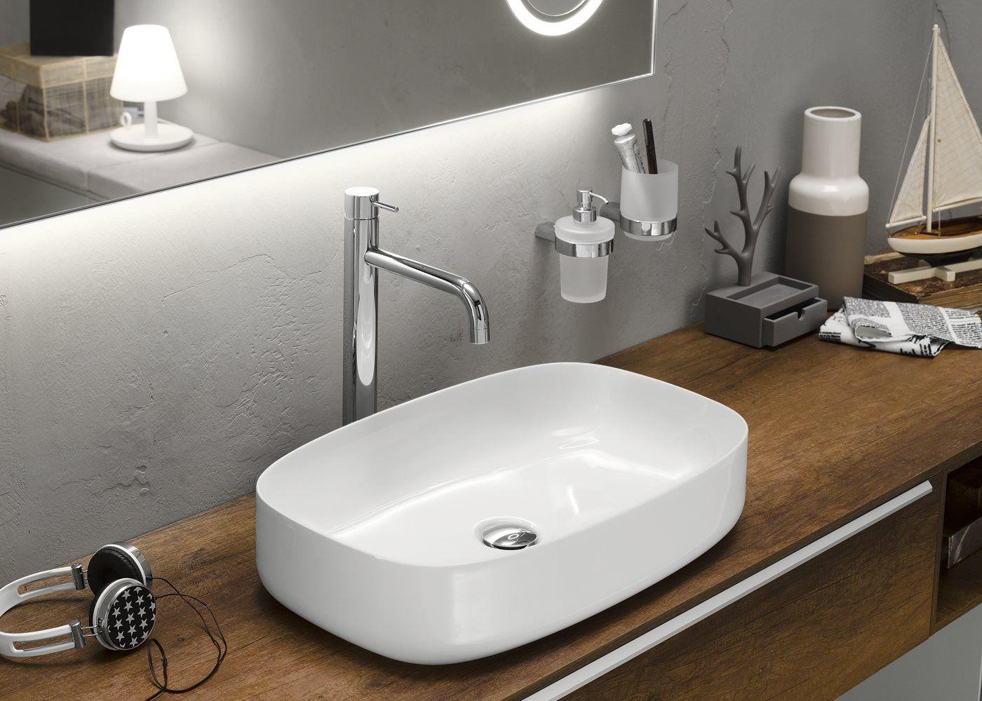 Meuble pour salle de bain composable progetto for Produit pour salle de bain