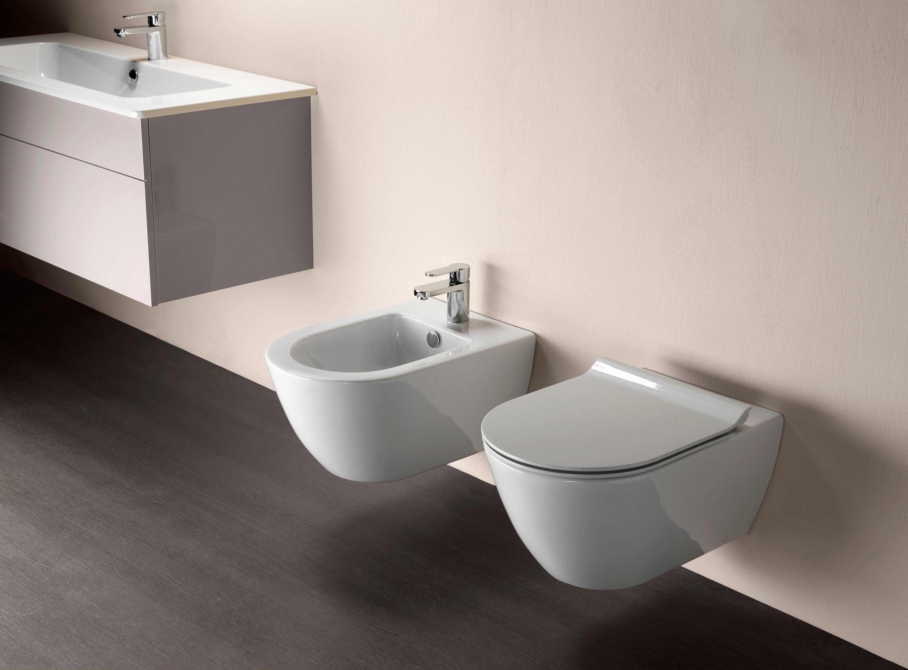 Pura 55 Wall Hung Toilet Pura Series By Gsi Ceramica