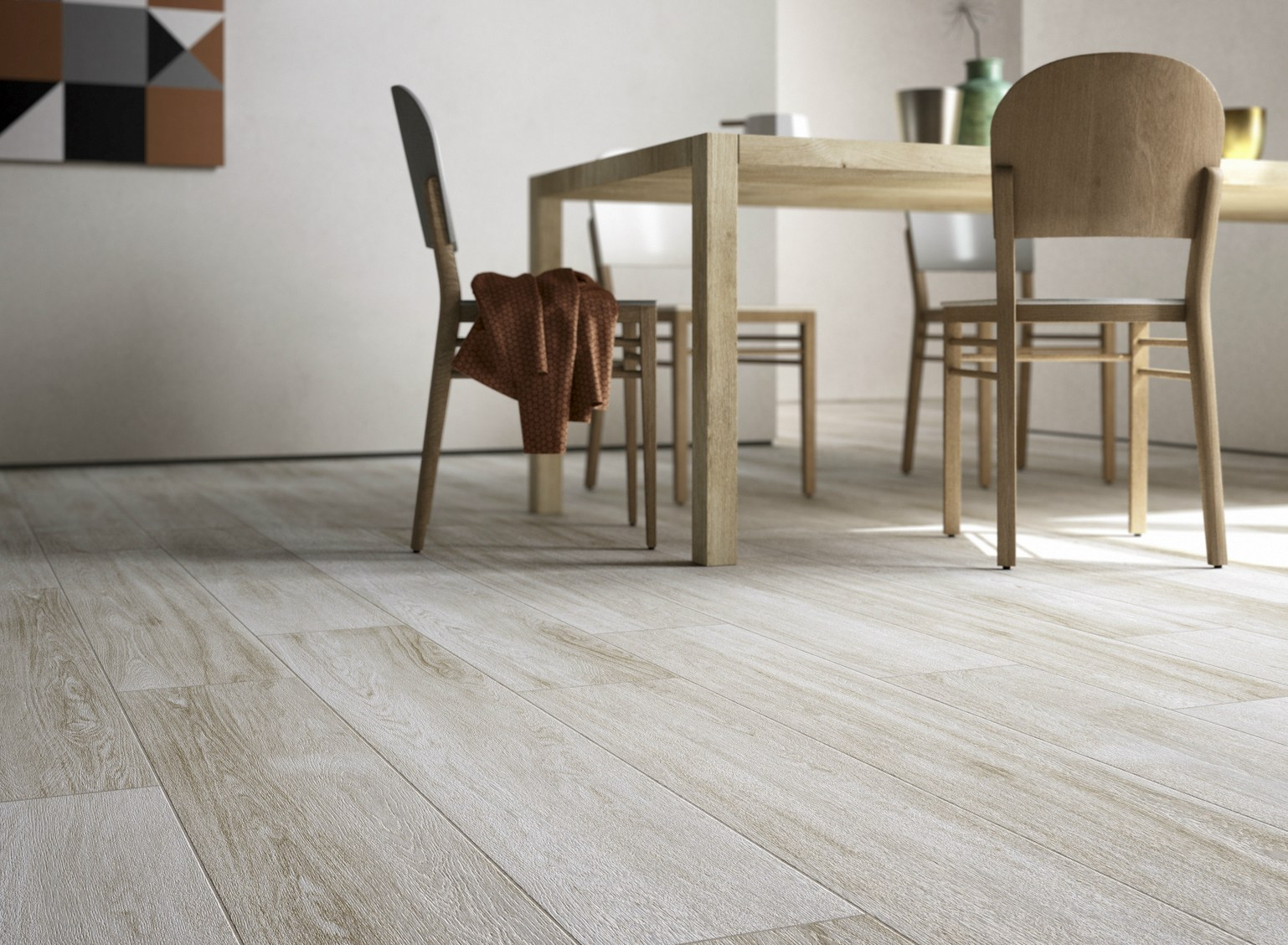 porcelain stoneware flooring with wood effect qstyle by ceramica duimola