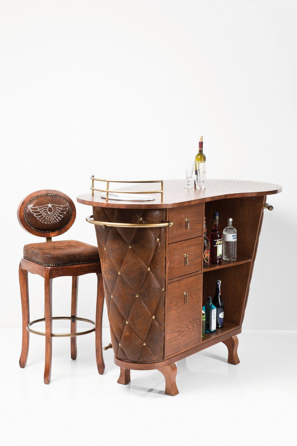 rockstar vintage meuble bar by kare design. Black Bedroom Furniture Sets. Home Design Ideas