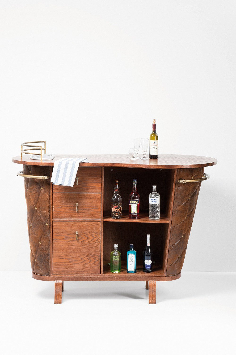 Rockstar vintage mueble bar by kare design for Bar de madera vintage