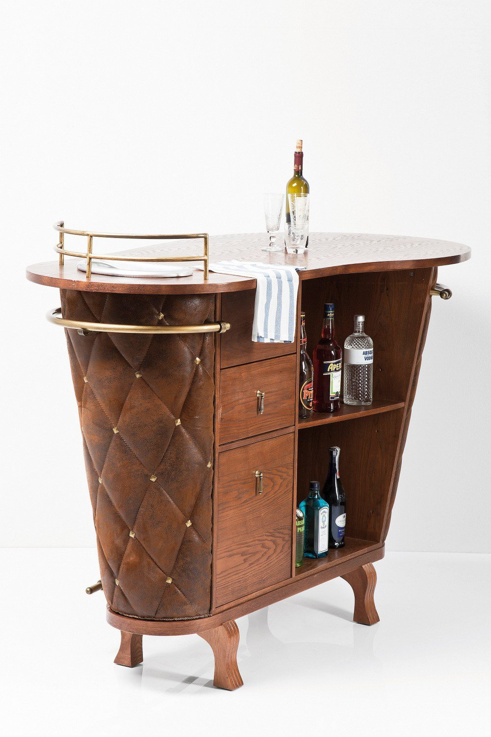 Rockstar vintage meuble bar by kare design for Meuble bar design contemporain