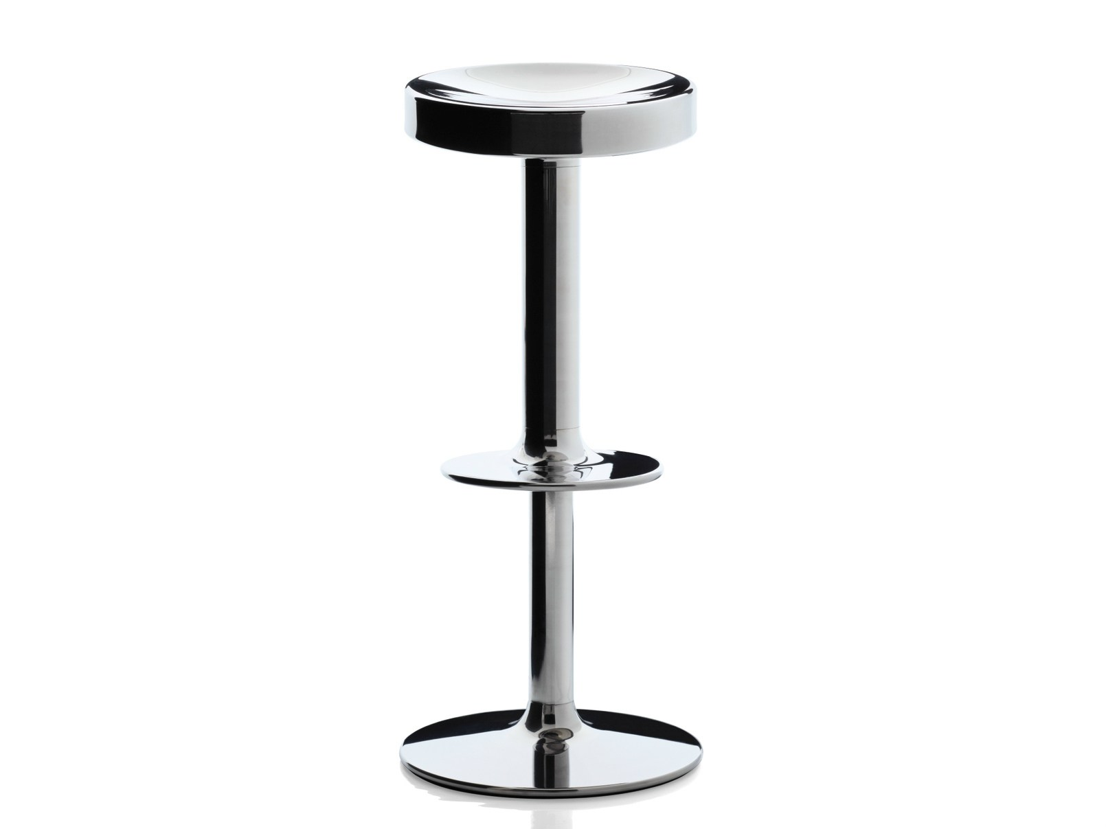 Gas Lift Design : Swivel stool with gas lift s sweet stainless steel
