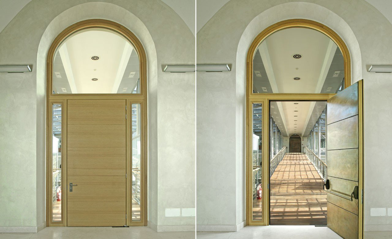 SA91 Porta d'ingresso per esterno by Capoferri Serramenti