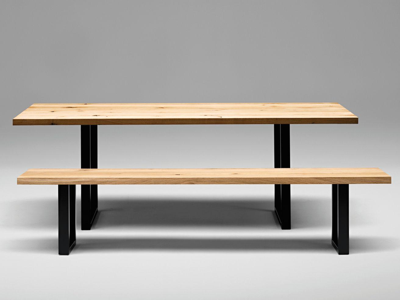 sc25 metall tisch aus holz by janua design christian seisenberger. Black Bedroom Furniture Sets. Home Design Ideas