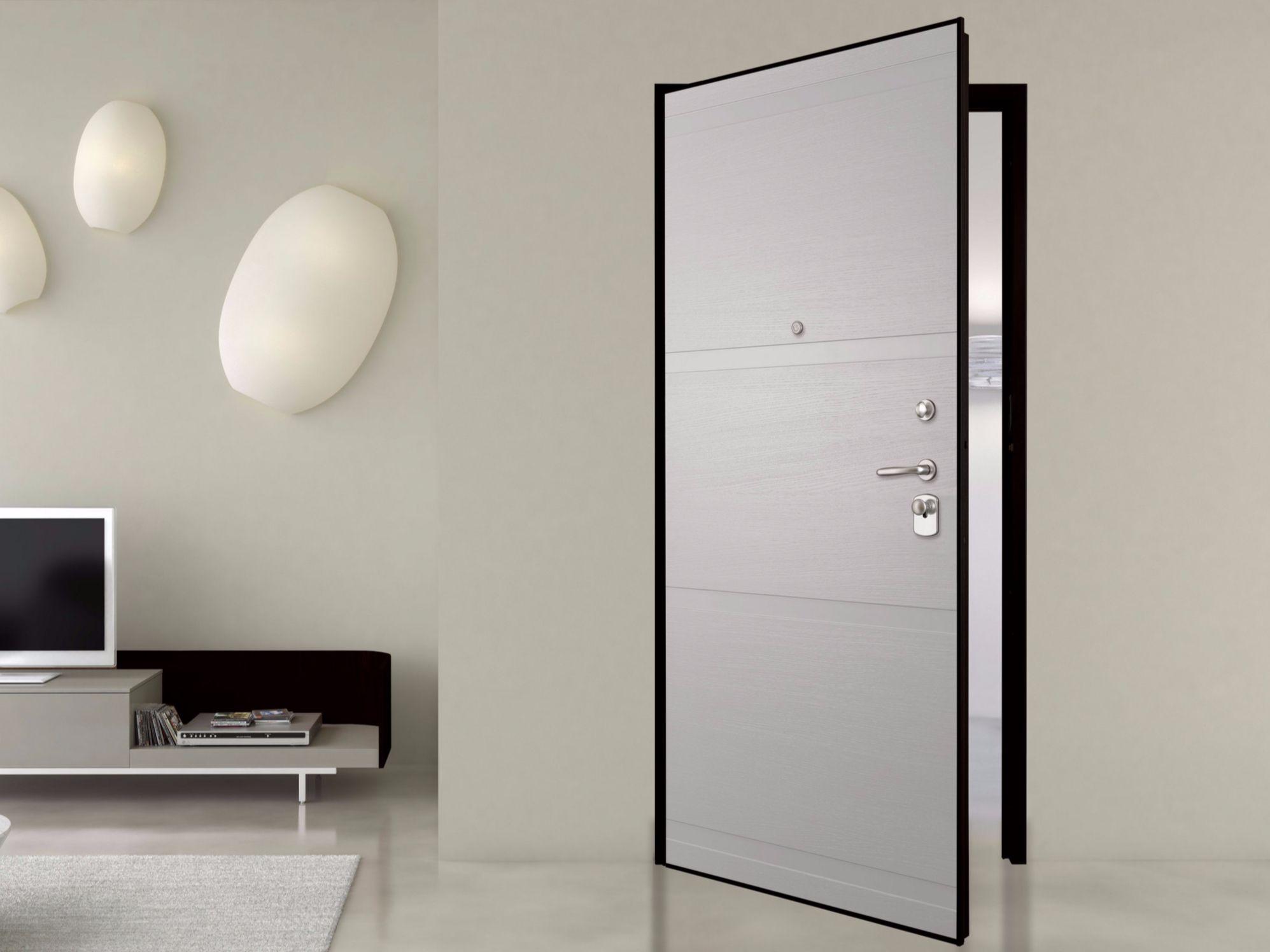 Porta d 39 ingresso blindata laccata secur collezione petra - Porta ingresso blindata ...