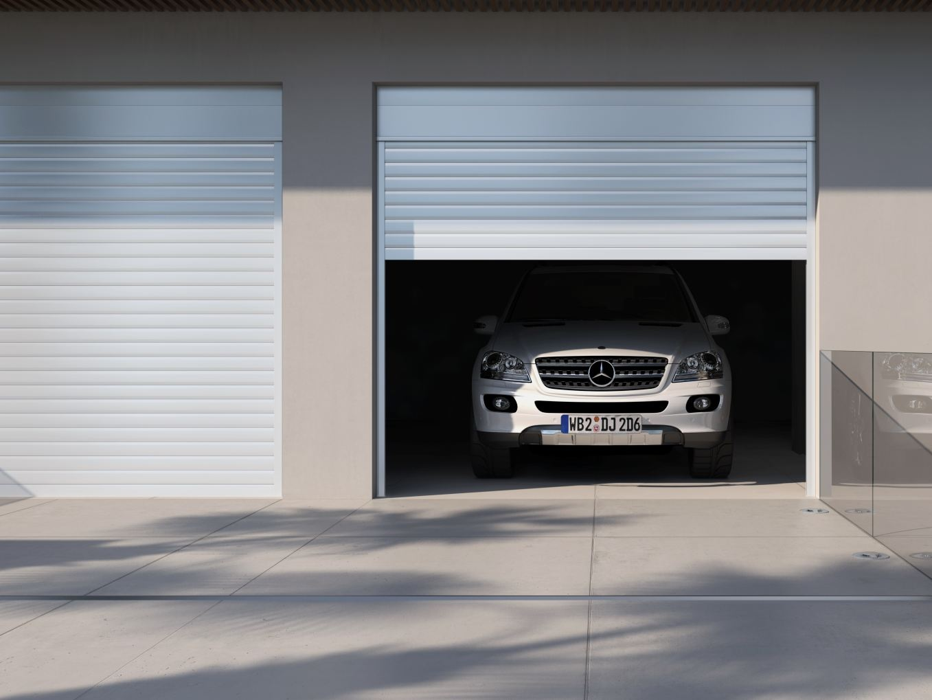 Smartia m13700 collezione smartia systems by alumil for Saracinesche per garage
