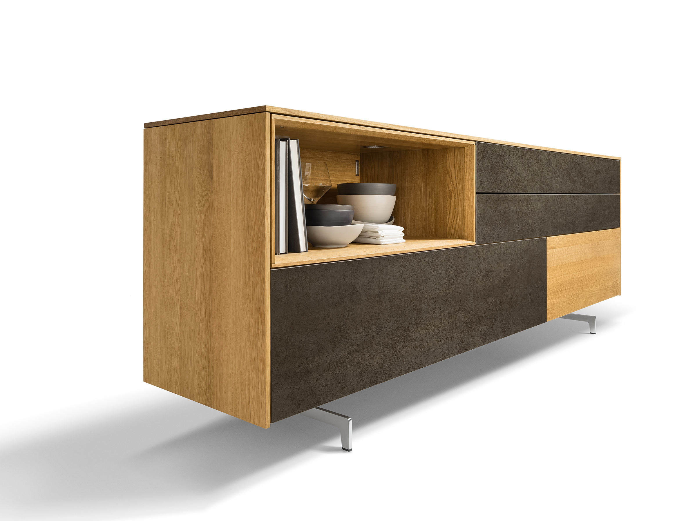 madia collezione filigno by team 7 nat rlich wohnen design sebastian desch. Black Bedroom Furniture Sets. Home Design Ideas